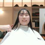 「カット動画」before→after セミロングからボブ「菊名美容室COCU」