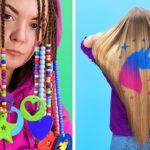 10个酷酷的女孩美容窍门!精彩的发型点子和美容趋势~~