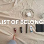 【持ち物カウント】【無印好きなミニマリスト美容師が家の全部の持ち物を数えてみた】(all list of belongings by MUJI minimalist)