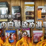 【検証】現役美容師が選ぶ!!!ホームカラーの白髪染め選手権!