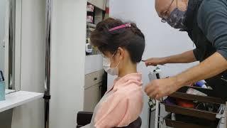 まとめ髪 洋装 正統派ドレスヘア さやディゾンCH タカシ美容室