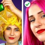 CRAZY BEAUTY HACKS! 🎀 シンプルだけど賢い美容ハック!女の子のためのメイクアイディア10選