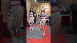 20200816台中西區IMK愛美客車體美容慶開幕辣妹跳跳3,QQ、宜雯