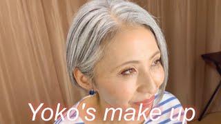 【60歳パート勤務】元美容部員の私が作るアラフィフよーこちゃんメイク
