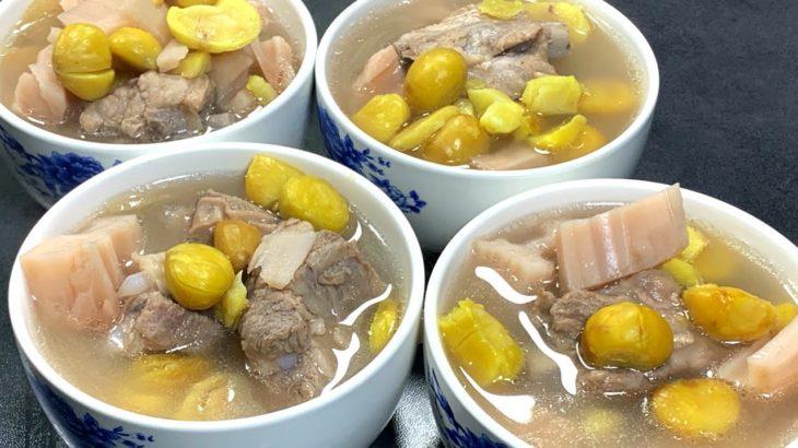 栗子燉排骨,入秋後常喝這道湯,美容養顏好氣色,男人女人都很補