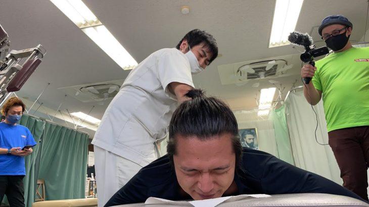 美容鍼灸王子とMKカイロタカハシ店長のコラボ!