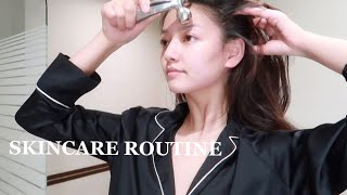 Skincare Routine 晚间护肤流程分享 美容注氧仪养出水光肌