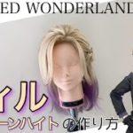 【ツイステ】表参道の美容師がヴィル・シェーンハイトを本気で作ってみた《TWISTED WONDERLAND コスプレウィッグ》